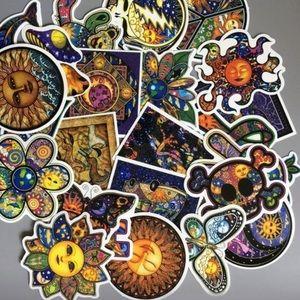 Assorted stickers 10pcs